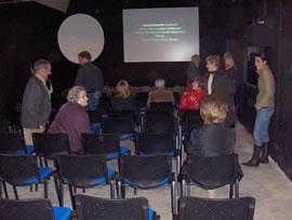 Presentació de l'audiovisual Mines de Bellmunt